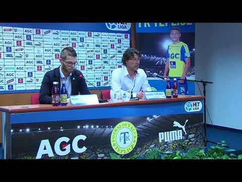 Tisková konference domácího trenéra po utkání Teplice - Karviná (21.10.2017)