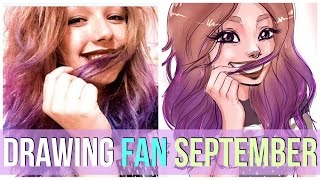DRAWING my FAN!!! September || Twitter Contest #Debbydrawsme