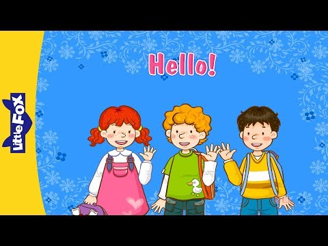 Hello! - Learn English For Kids Song By Little Fox video