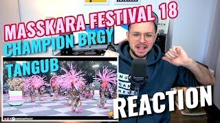 CHAMPION - Brgy. Tangub | MassKara Festival 2018 | REACTION
