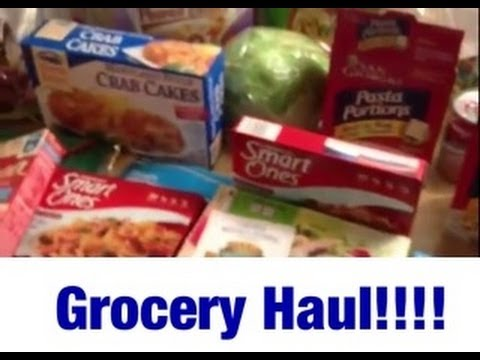 GROCERY HAUL!! Weight Watchers Points Plus & Low Calorie Food Haul -  Shopping List Ideas!!! #2