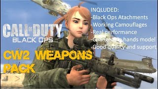 Call of Garrysmod: Black Ops ( CW2 Weapons Pack Addon )