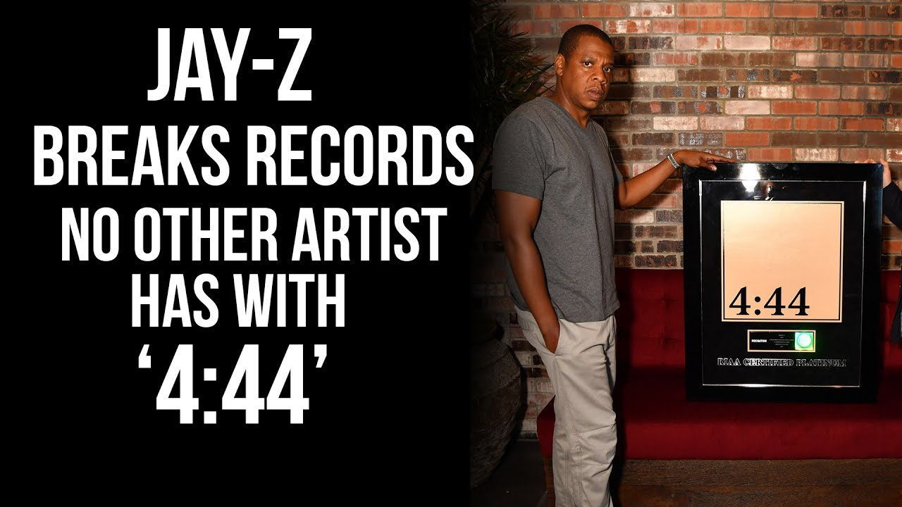 Jay-Z Breaks Records No Hip-Hop Artist Has With '4:44' Album