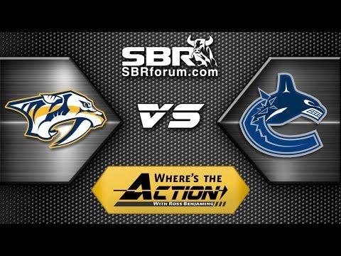 NHL Picks: Nashville Predators vs. Vancouver Canucks