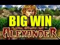 Online slots HUGE WIN 2.5 euro bet - The story of Alexander BIG WIN (EGT)