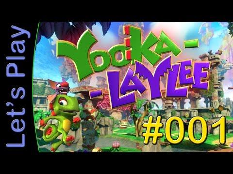 Let's Play Yooka Laylee #01 [DEUTSCH] - Ein magisches Buch