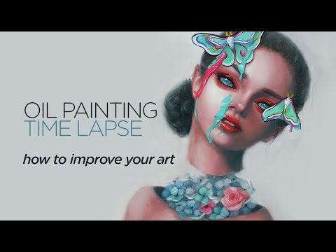 How to improve your art || Oil Painting Timelapse