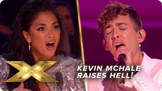 Kevin McHale raises HELL for the Judges with Lizzo banger! | Live Week 1 | X Factor: Celebrity