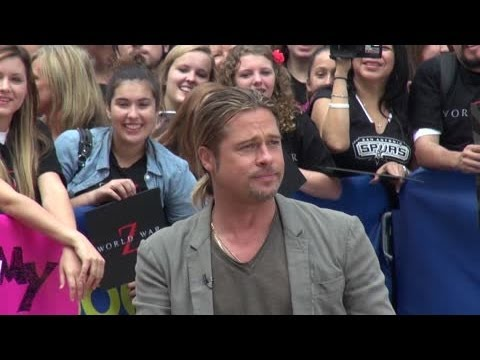 Brad Pitt Responds to Melissa Etheridge's Comments Against Angelina Jolie - Splash News