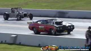 BOSKO RACING 9 SEC FORD COUPE DAY OF THE DRAGS 29.3.2015