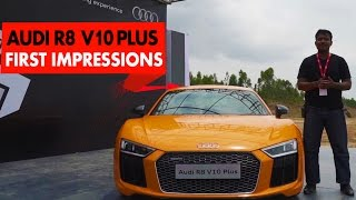 Audi R8 V10 Plus : First Impressions : PowerDrift