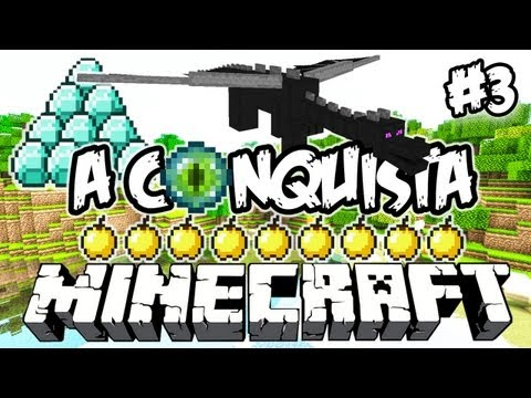 DIAMAAAANTES! - A Conquista 3: Minecraft