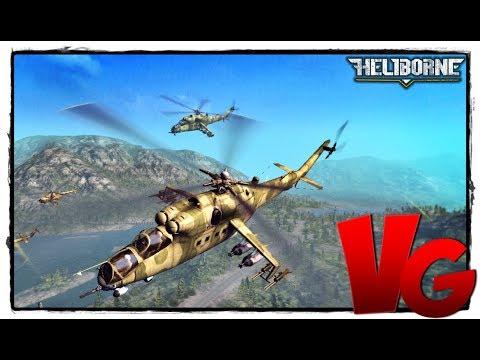 Heliborne [60Fps ULTRA] Обновление 0.86.1 - Онлайн Игра про вертолеты бесплатно