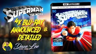 SUPERMAN: THE MOVIE - 4K Blu-ray Announced & Detailed