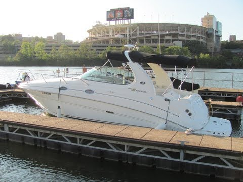 2003 SeaRay 280 Sundancer Express Cruiser For Sale on the Tennessee River in Knoxville TN - SOLD!