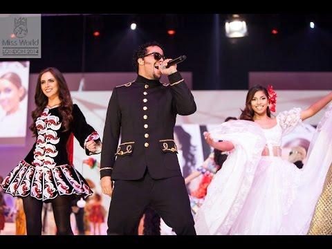 Miss World 2014 - Show Opener - Sky Blu we Love Girls video