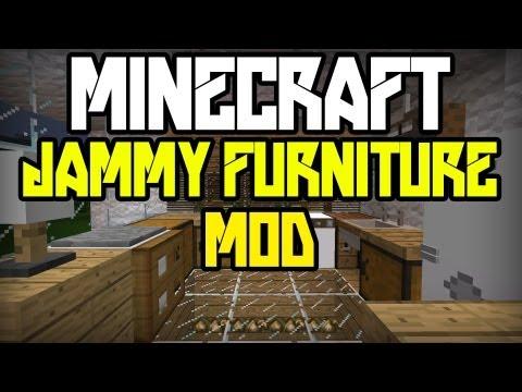 Minecraft: Modyfikacje [#30] [1.4.6] - Jammy Furniture Mod + Instalacja! - Nowe Meble W Minecraft!