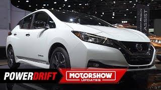Nissan Leaf E Plus : More and more : 2019 Detroit Auto Show : PowerDrift
