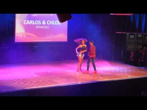 2016 Sydney International Bachata Festival - Carlos and Chloe
