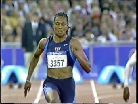Marion Jones/Merlene Ottey/Chandra Sturrup - Olympics (100m Semi-Finals) - Sydney, Australia (2000)