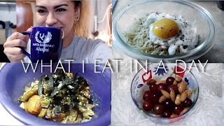 WHAT I EAT IN A DAY #1 | VEGETARIAN