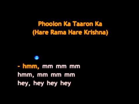Phoolon Ka Taaron Ka video