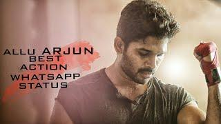 Allu Arjun | Best Action | Whatsspp Status Video
