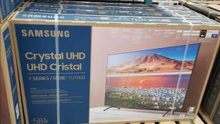 Samsung TU7000 Crystal UHD 4K Smart TV 2020 Unboxing and Setup #tu7000 #samsung7series #crystaluhdtv