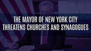 Video: Coronavirus forcing closure of Churches & Synagogues in New York - Michael Brown