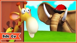 Cartoon | Gazoon - Goofy Giraffe | Funny Cartoons For Children | HooplaKidz TV