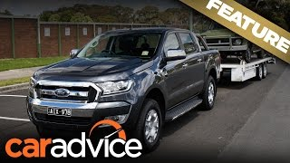 Tow ball mass explained with the Ford Ranger XLT | A CarAdvice Feature