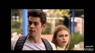 Lydia and Stiles - Gravity