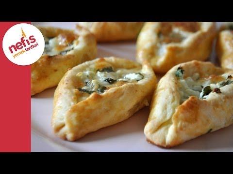 Peynirli Pide Poğaça (Sesli Anlatımı Ile)   Nefis Yemek Tarifleri