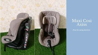 Recommended Baby Car Seat - Maxi Cosi Axiss