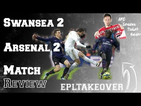 Swansea vs Arsenal 2-2 2012-13