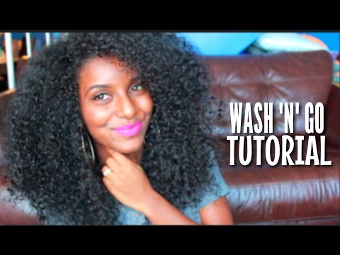 Updated Wash N Go Tutorial | Natural Hair