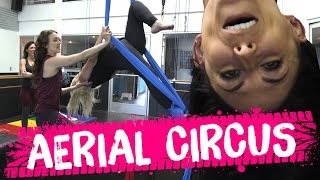 Trying Aerial Silks?! (Beauty Trippin)