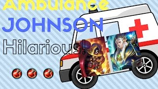 Ambulance Truck – ML 911! Mobile Legends Johnson Glorious Legend Ranked Gameplay Highlight with Comm