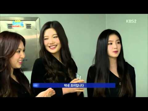 141107 Red Velvet with Afgan Interview Cut at 2014 Asia Song Festival