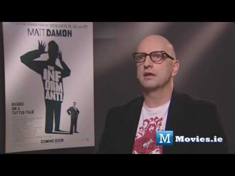 Director Steven Soderbergh talks the Film Business, Matt Damon, The Informant, Contagion & Tot Mom