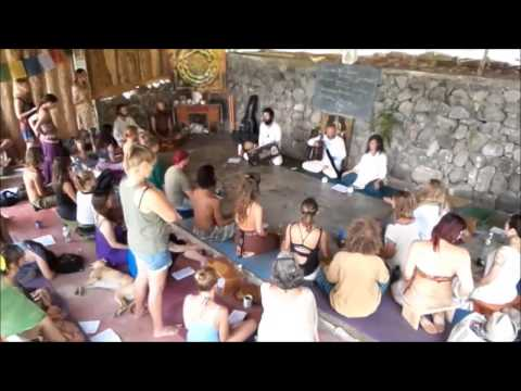 Kirtan at Kaivalya Ashram Guatemala 18 May 2015