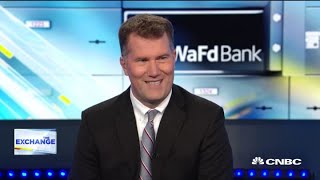 WaFd Bank CEO Brent Beardall on the rebrand and the stock's performance