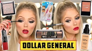 FULL FACE OF DOLLAR STORE MAKEUP | DOLLAR STORE MAKEUP CHALLENGE