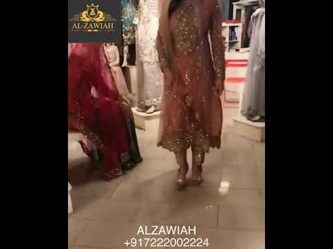 Alzawiah Designer Party and Wedding Wear collection Saree, Gown,Suits Dresses
