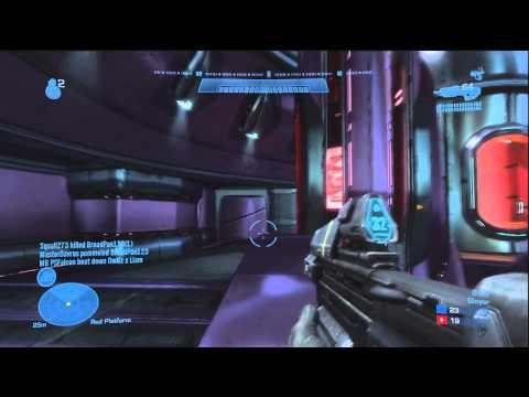 Halo Reach - SLAYER on Arena Zealot - TU BETA - W/Commetnary