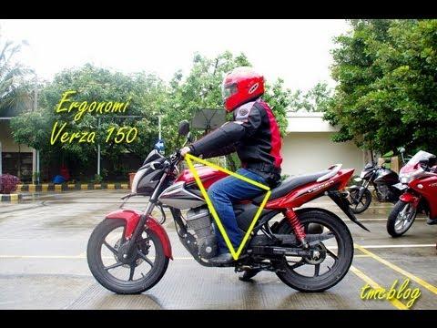 Test Ride Honda Verza 150