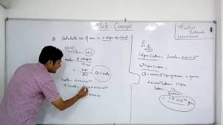 Class -9 | Mole Concept | Chemistry | Numerical  |   By HKP