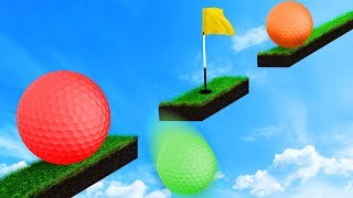 WORLD'S MOST DIFFICULT GOLF COURSE! (Golf It)