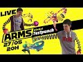 ARMS - Global Testpunch | Session Découverte à 2 joueurs ! [FR] [Redif]