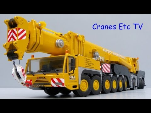 Conrad Terex AC 1000 Mobile Crane 'Steil' by Cranes Etc TV